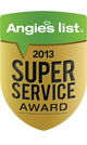 Angies List - Super Service Award 2011